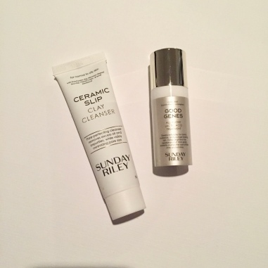 Sunday Riley Good Genes and Ceramic Cleanser