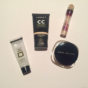 Foundation, Primer, and Concealer
