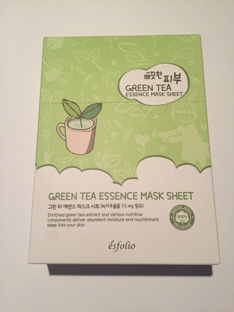 esfolio Green Tea Essence Sheet Mask