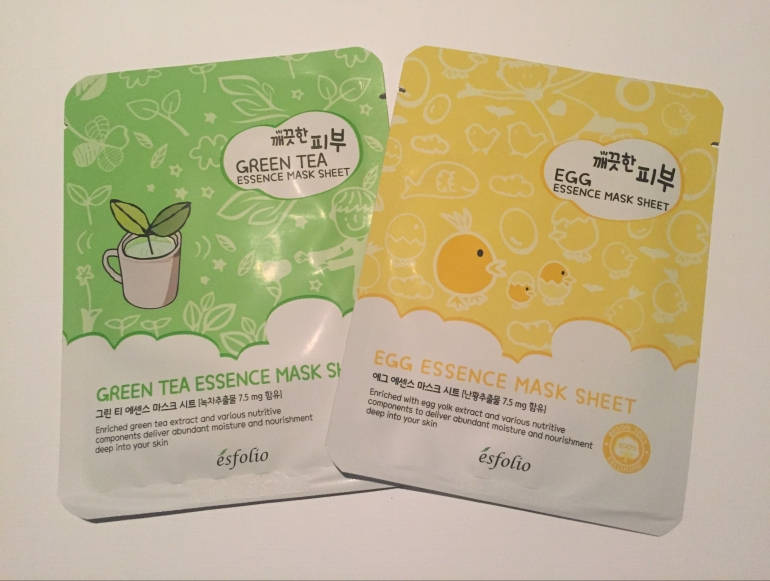 esfolio sheet masks