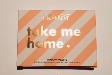 Colourpop Take Me Home Eyeshadow Palette Review | Tayler's Edit