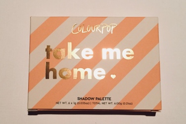 Colourpop Take Me Home Eyeshadow Palette Review | Tayler's Edit