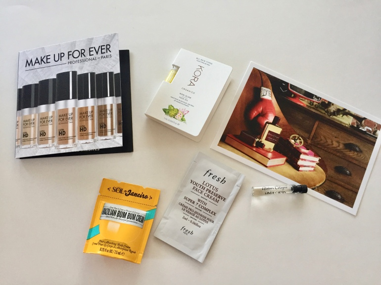 Sephora Sample Sunday #4