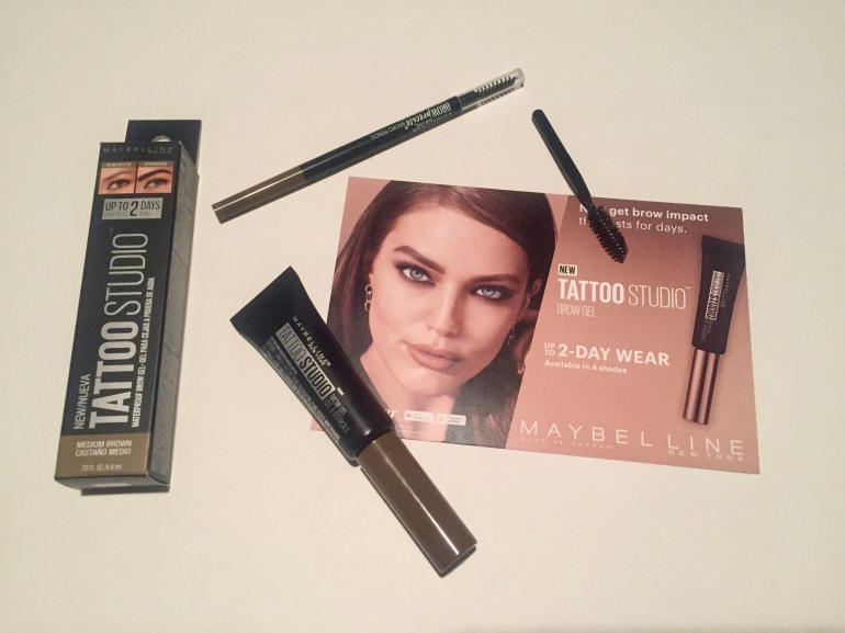 Influenster x Maybelline Brow Gel and Brow Precise Micro Pencil Review | Tayler's Edit