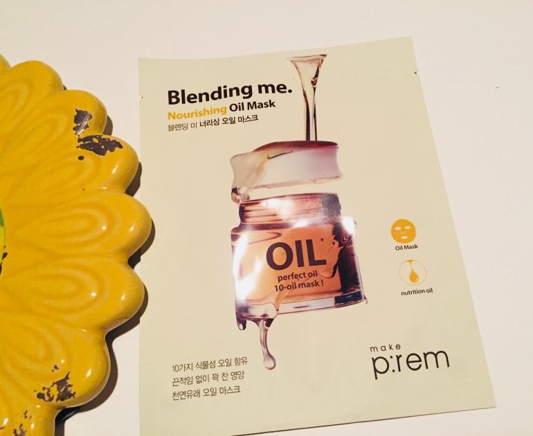 Make P:REM Blending Me Oil Mask Review   Tayler's Edit