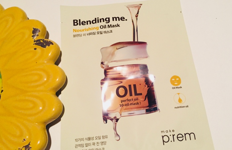 Make P:REM Blending Me Oil Mask Review | Tayler's Edit