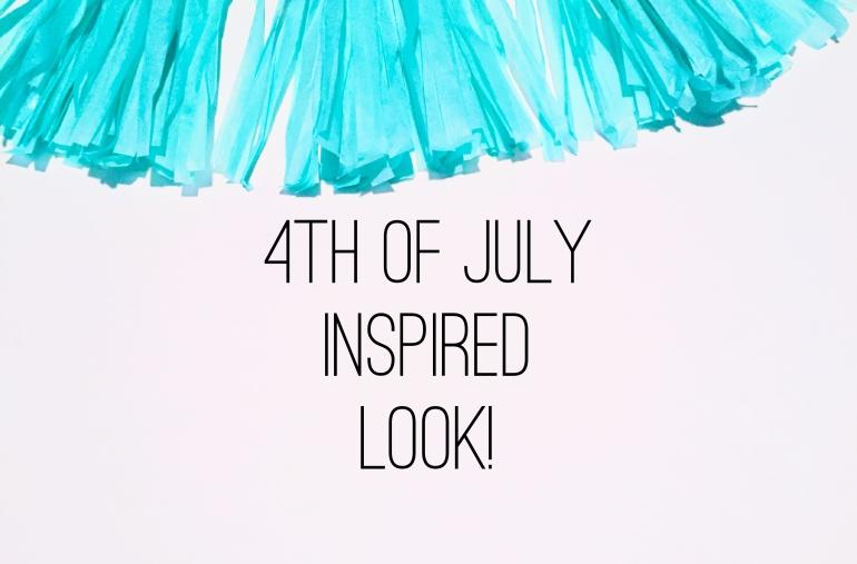 4th of July Inspired Look Tutorial | Tayler's Edit
