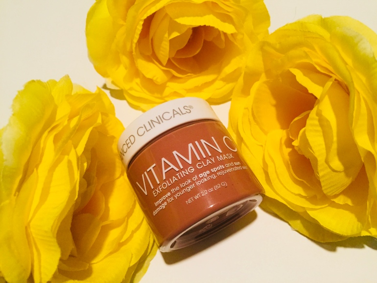 Advanced Clinicals Vitamin C Exfoliating Clay Mask Review | Tayler's Edit