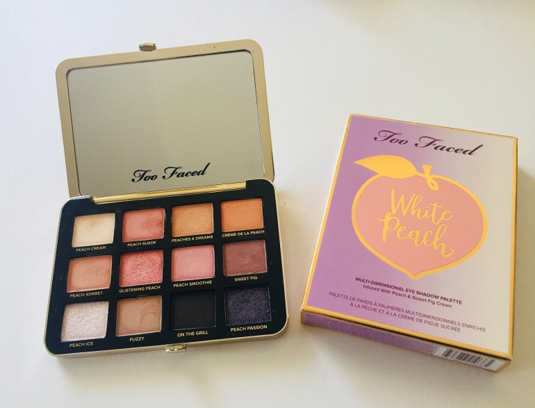 Too Faced White Peach Palette Bingo | Tayler's Edit