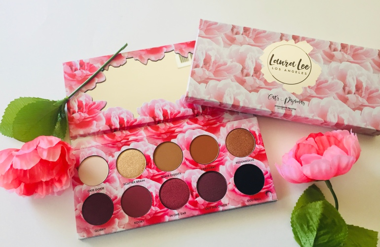 Laura Lee Los Angeles Cat's Pajamas Eyeshadow Palette Review | Tayler's Edit