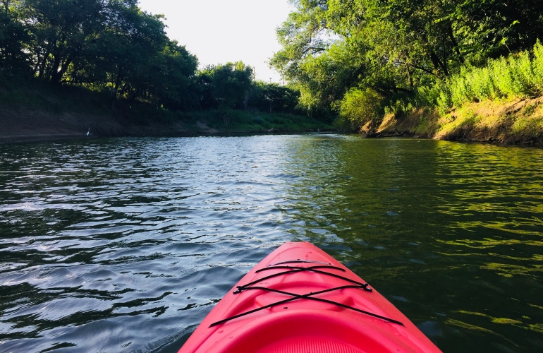 Kayaking Adventures at Trinity River | Tayler's Edit