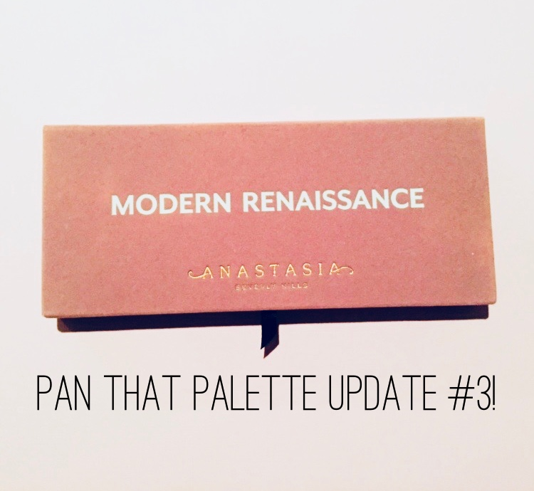 Anastasia Beverly Hills Modern Renaissance Pan that Palette Update #3 | Tayler's Edit