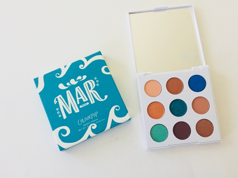 ColourPop Mar Palette Review | Tayler's Edit