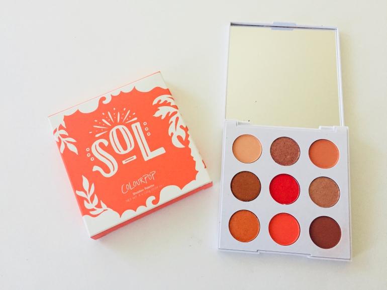 ColourPop Sol Palette Review | Tayler's Edit