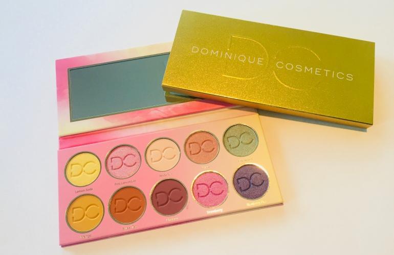 Dominique Cosmetics Lemonade Palette Review | Tayler's Edit