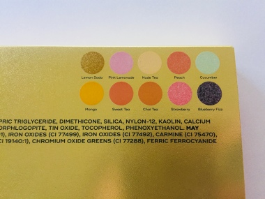 Dominique Cosmetics Lemonade Palette Review | Tayler's Edit