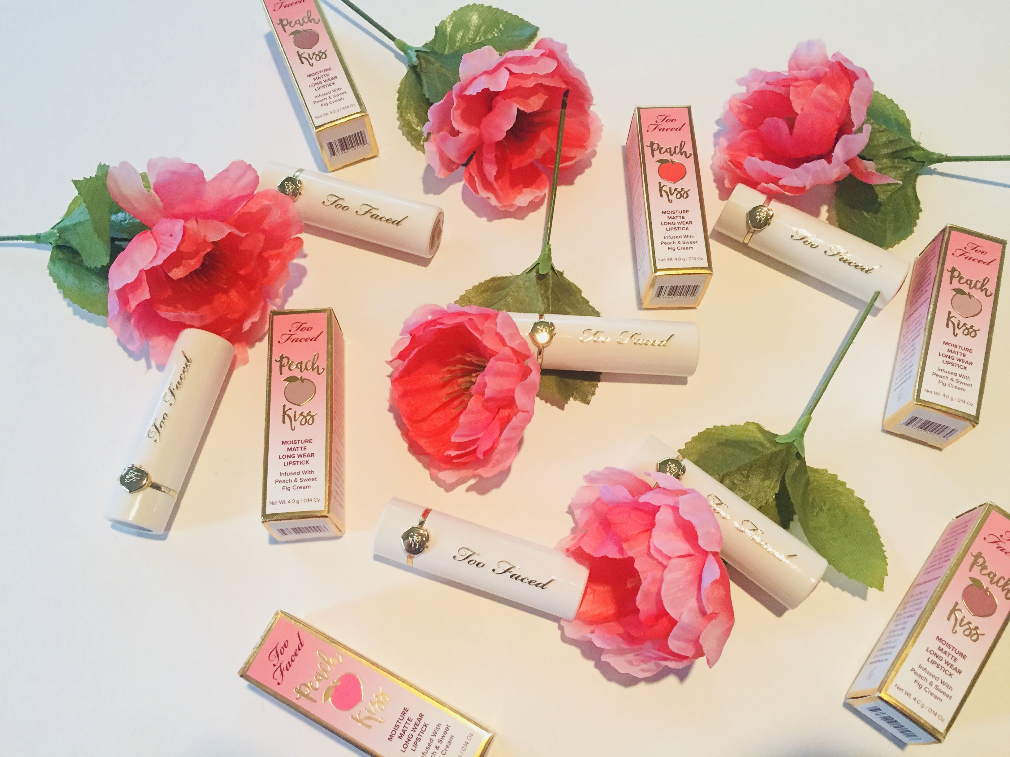 Too Faced Peach Kiss Lipstick Review | Tayler's Edit