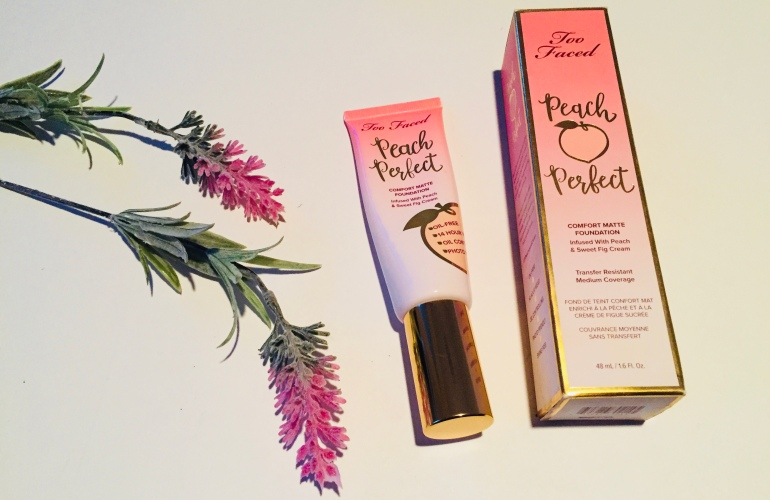 Too Faced Peach Perfect Matte Foundation Review | Tayler's Edit