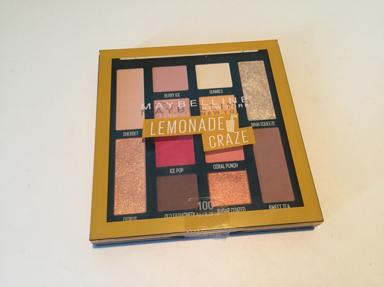 Maybelline Lemonade Craze Eyeshadow Palette | Tayler's Edit