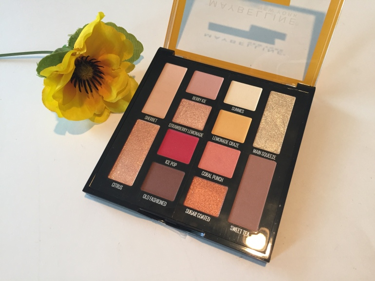 Maybelline: Lemonade Craze Eyeshadow Palette Review | Tayler's Edit
