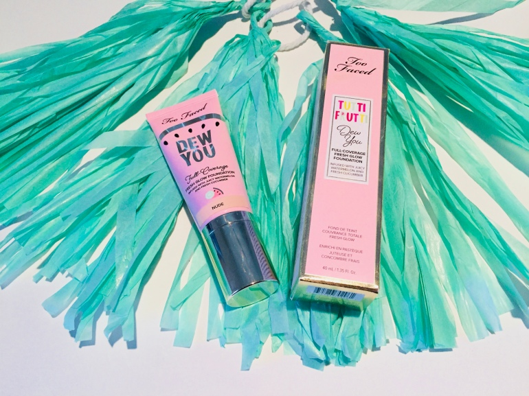 Too Faced Tutti Frutti Dew You Foundation Review | Tayler's Edit