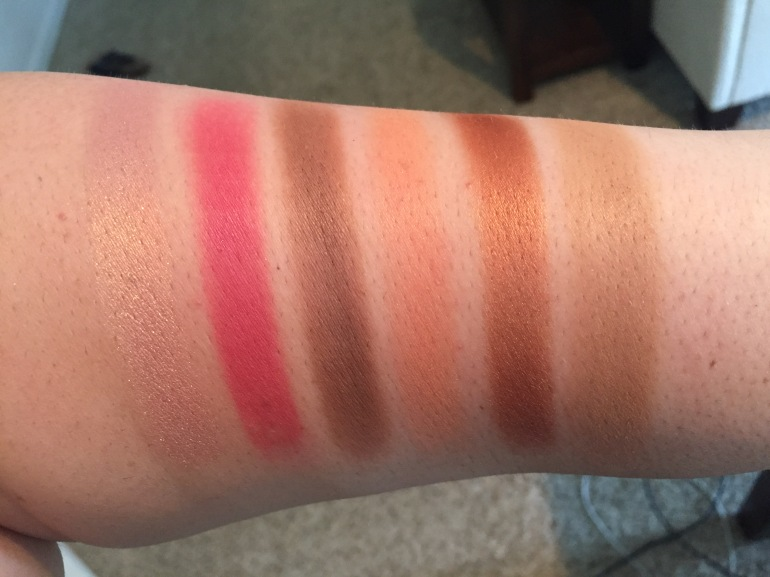 Maybelline: Lemonade Craze Eyeshadow Palette Swatches | Tayler's Edit