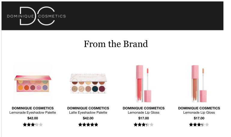 Dominique Cosmetics Sephora | Tayler's Edit