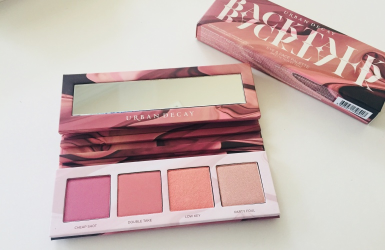 Urban Decay Backtalk Eyeshadow and Blush Palette Review | Tayler's Edit