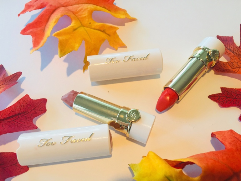 Too Faced Peach Kiss Lipsticks | Tayler's Edit