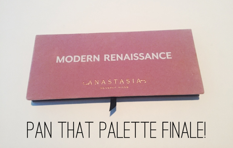Anastasia Beverly Hills Pan that Palette Finale | Tayler's Edit