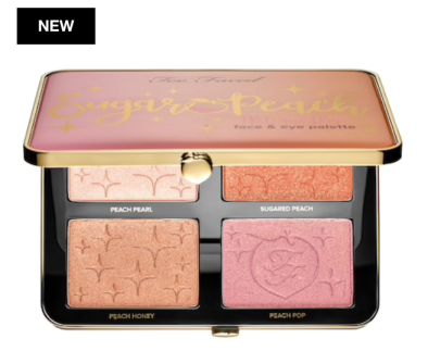 Too Faced Sugar Peach Wet and Dry Face & Eye Palette | Tayler's Edit