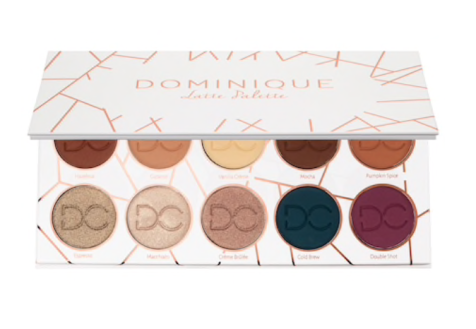 Dominique Cosmetics Latte Eyeshadow Palette | Tayler's Edit