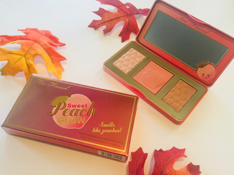 Too Faced Sweet Peach Glow Face Palette | Tayler's Edit