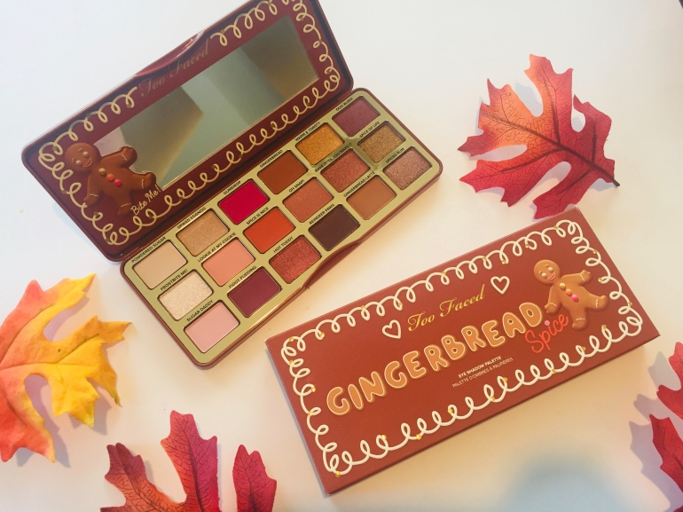 Too Faced Gingerbread Spice Eyeshadow Palette | Tayler's Edit