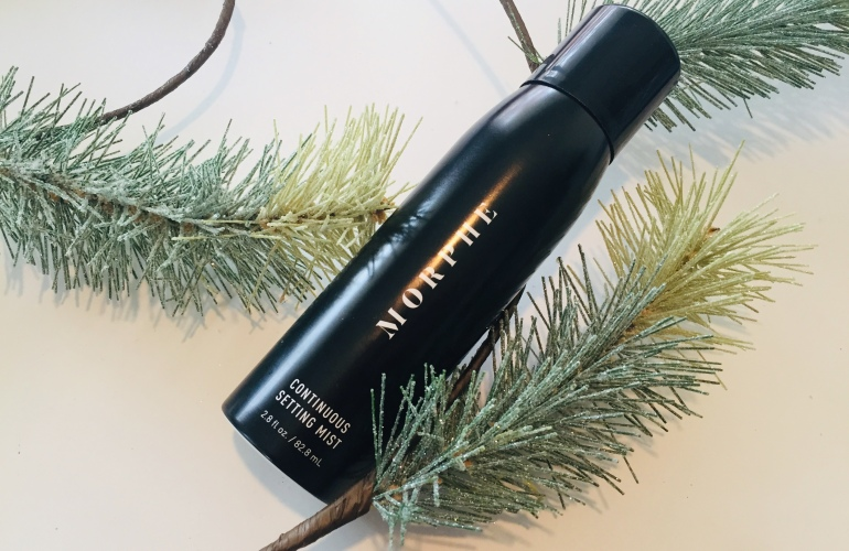 Morphe Continuous Setting Mist Review   Tayler's Edit