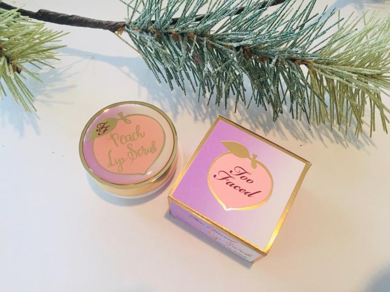 Too Faced Peach Lip Scrub | Tayler's Edit
