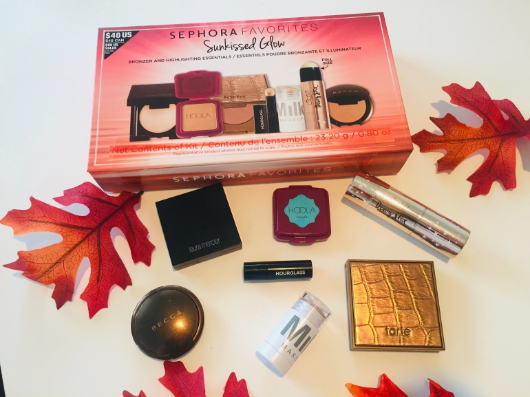 Sephora Favorites: Sunkissed Glow Bronzer and Highlighter Essentials Set Review and Swatches | Tayler's Edit