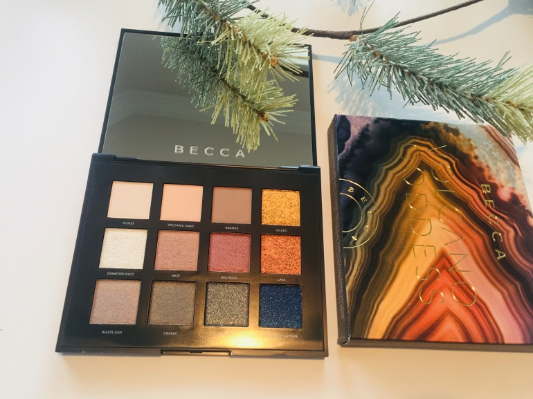 BECCA Cosmetics: Volcano Goddess Eyeshadow Palette Review | Tayler's Edit