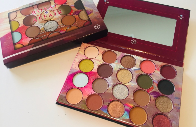 BH Cosmetics Royal Affair Eyeshadow Palette Review | Tayler's Edit