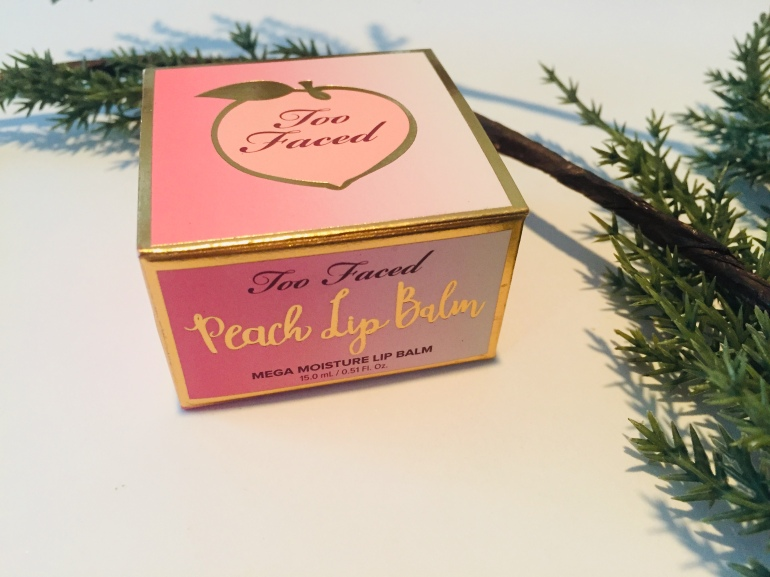 Too Faced: Peach Lip Balm Review | Tayler's Edit