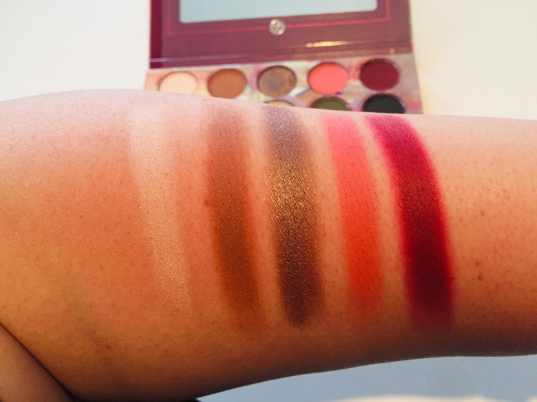 BH Cosmetics Royal Affair Eyeshadow Palette Swatches   Tayler's Edit