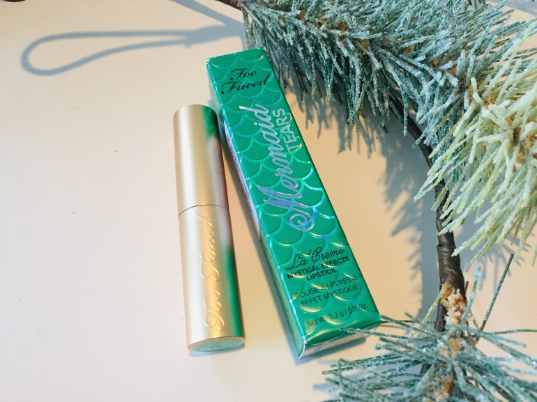 Too Faced: Mermaid Tears La Creme Lipstick Review | Tayler's Edit