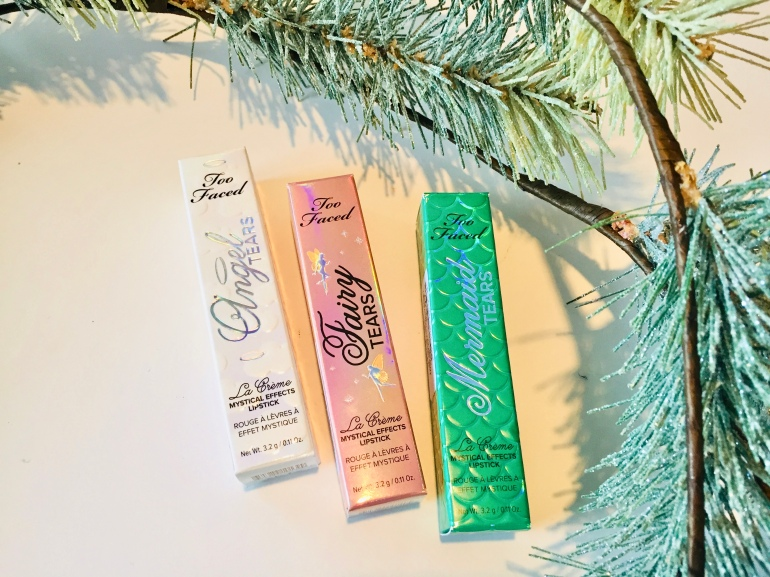 Too Faced: La Crème Mystical Effects Lipsticks Review | Tayler's Edit