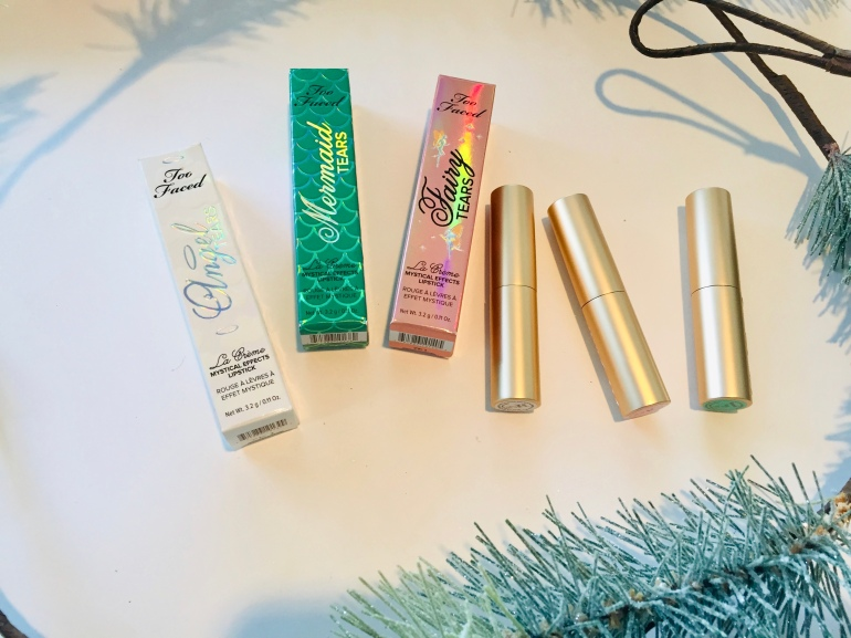 Too Faced: La Crème Mystical Effects Lipsticks Review   Tayler's Edit