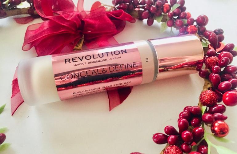 Makeup Revolution: Conceal & Define Full Coverage Foundation Review   Tayler's Edit