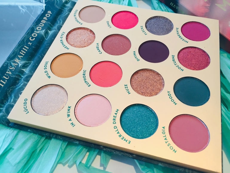 ColourPop x ILUVSARAHII: Through My Eyes Eyeshadow Palette Review | Tayler's Edit