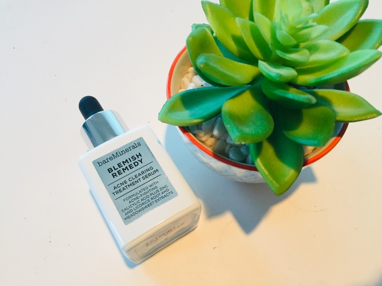 BareMinerals: Blemish Remedy Acne Clearing Treatment Serum Review | Tayler's Edit