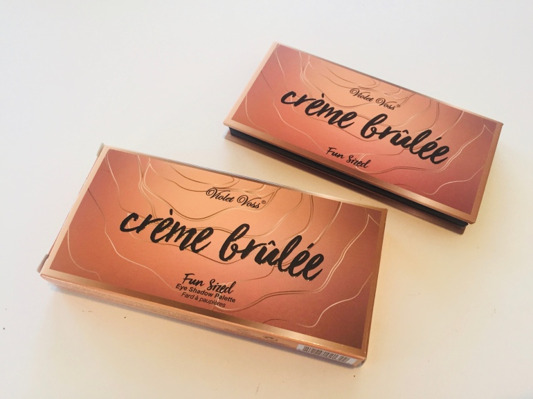 Violet Voss: Crème Brulee Fun Sized Eye Shadow Palette Review | Tayler's Edit