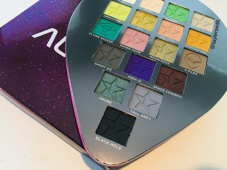 Jeffree Star Cosmetics: Alien Eyeshadow Palette Review | Tayler's Edit