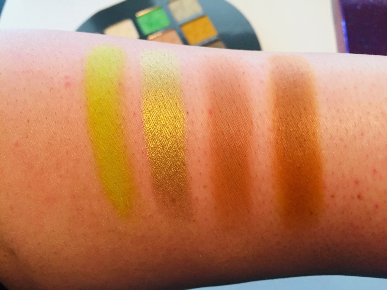 Jeffree Star Cosmetics: Alien Eyeshadow Palette Swatches | Tayler's Edit